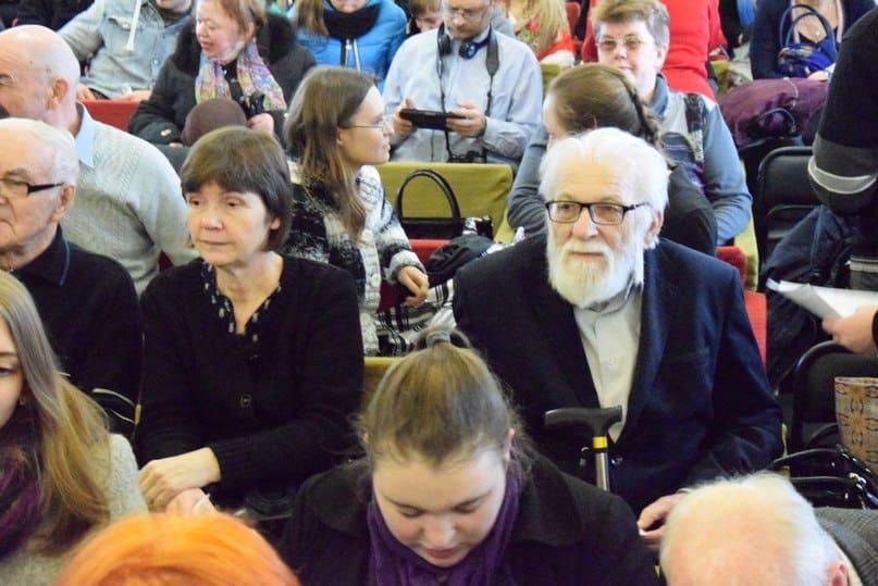 Защитники бульвара - архитекторы Ирина Гришина и академик Вячеслав Орфинский