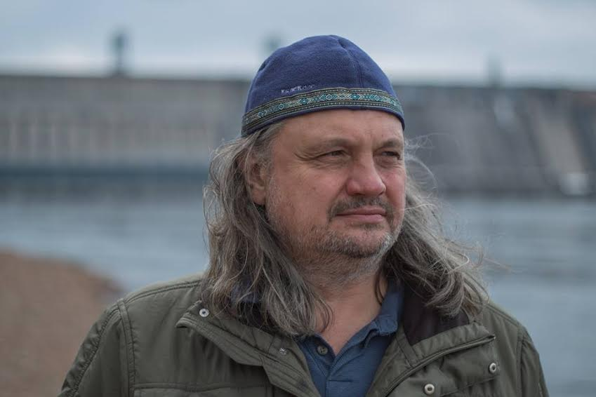 Владимир Софиенко на ГЭС