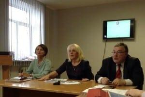 Елена Тюрева, Валентина Улич (в центре) и Александр Морозов