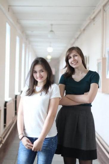 Ксения Войтович и Анастасия Львова