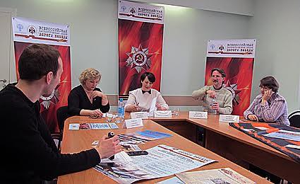 Участники пресс-конференции в Министерстве культуры РК