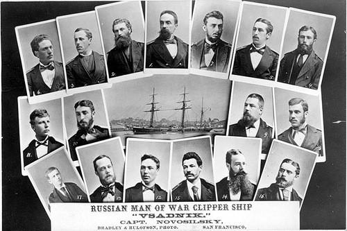 Офицеры «Всадника», 1870-е годы