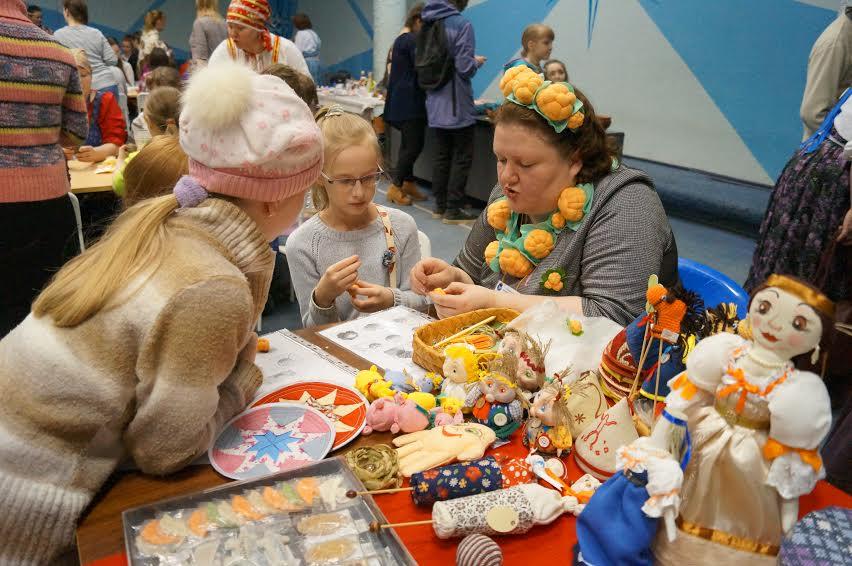 Мастер-класс по изготовлению народных кукол