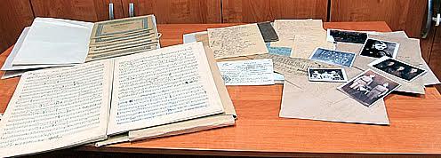 Архив военного музыканта П.Т Фартушного сегодня хранится в Национальном архиве Карелии