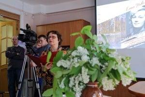 Вела встречу заместитель директора Национального архива Ирина Петухова