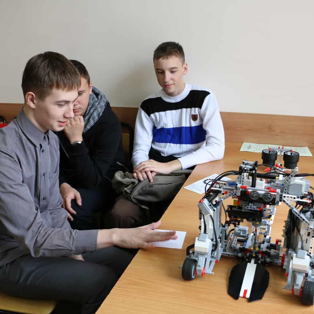Первый республиканский фестиваль научно-технического творчества детей и молодежи. Фото Владимира Григорьева