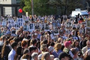 Как Петрозаводск встретил 71-й  День Победы (фоторепортаж)