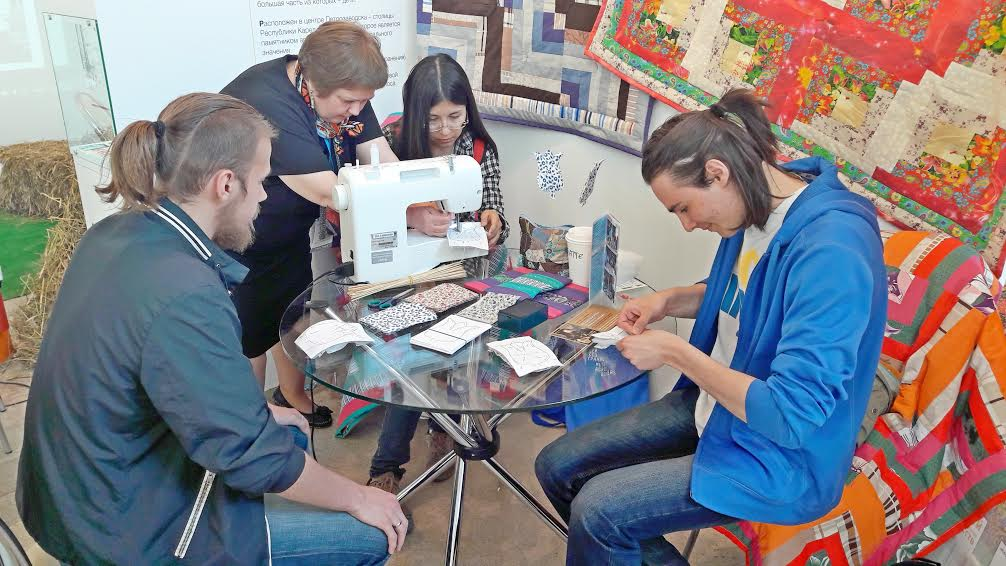 Мастер-класс по текстильной пластике