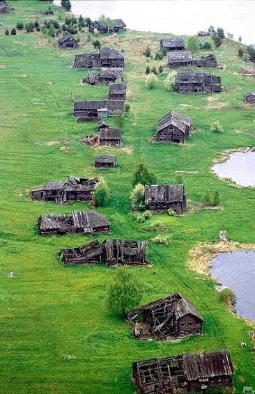 Старинная Пегрема. XXI век. Фото Владимира Ларионова