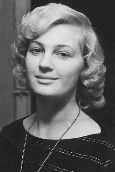 Елена Николаева. 1960-е годы. НА РК