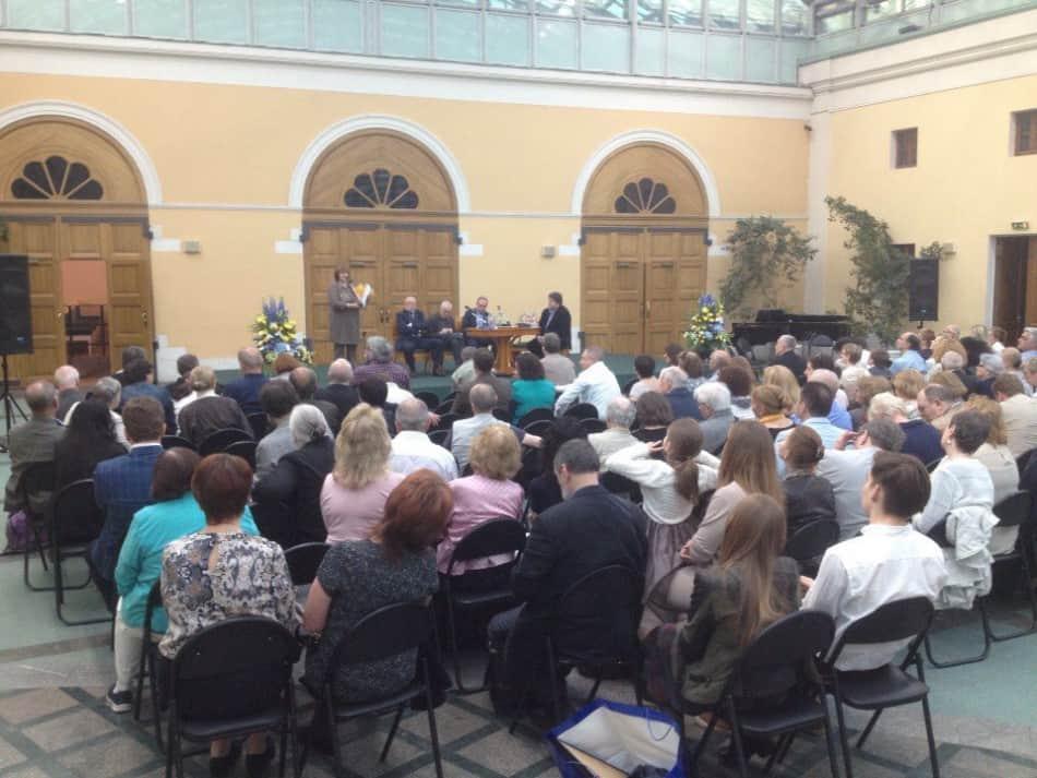 Церемония награждения прошла в 12-й раз в Государственном музее А.С. Пушкина и по традиции 26 мая — в день рождения Пушкина по старому стилю. Фото Алексея Полякова