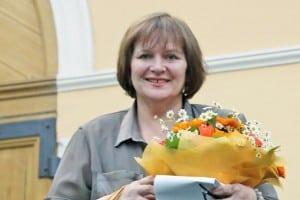Любовь Герасёва на церемонии в Москве. Фото Аркадий Колыбалов/РГ