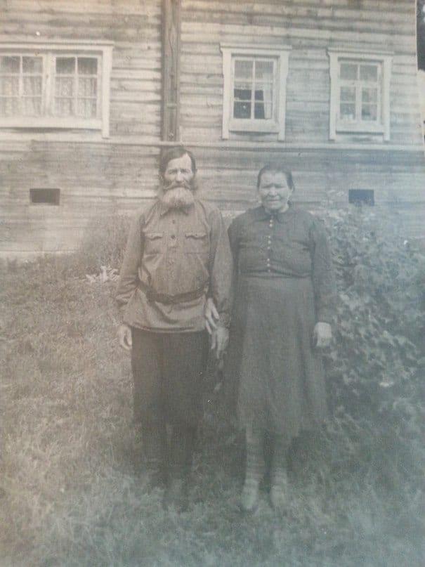 Евдоким Федорович Гаврилов с женой