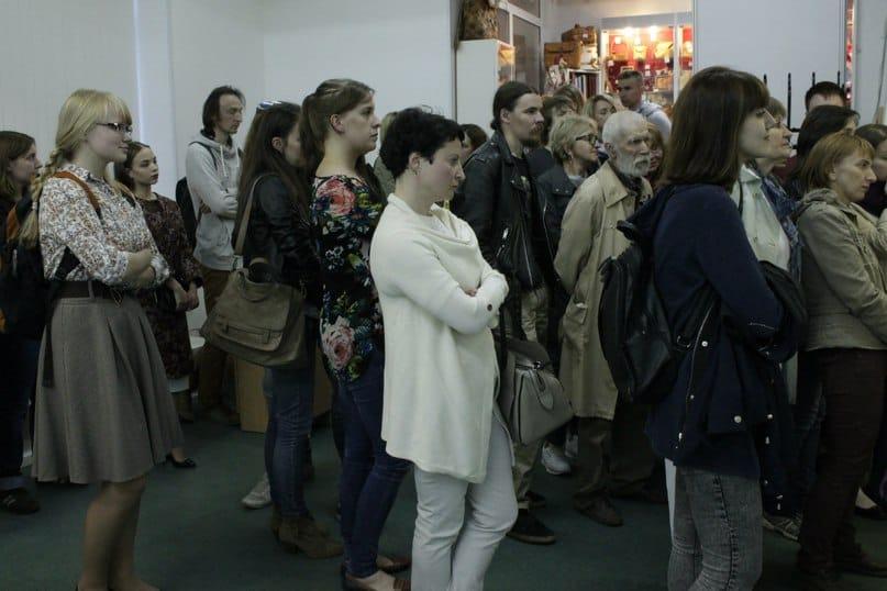 В медиа-центре «Vыход» в Ночь музеев побывали около тысячи человек! Фото из группы vk.com/komart_club