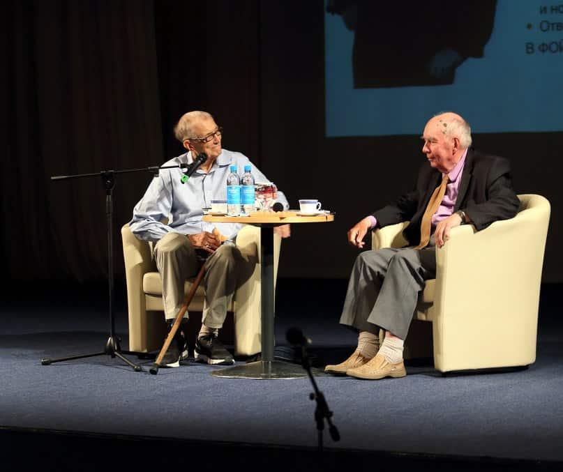 Евгений Евтушенко в Петрозаводске. 20 июня 2016 года. Фото Леонида Николаева
