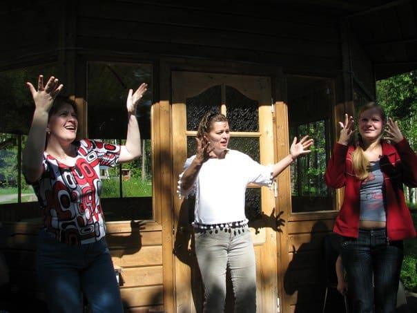 Обучение семей жестовому языку