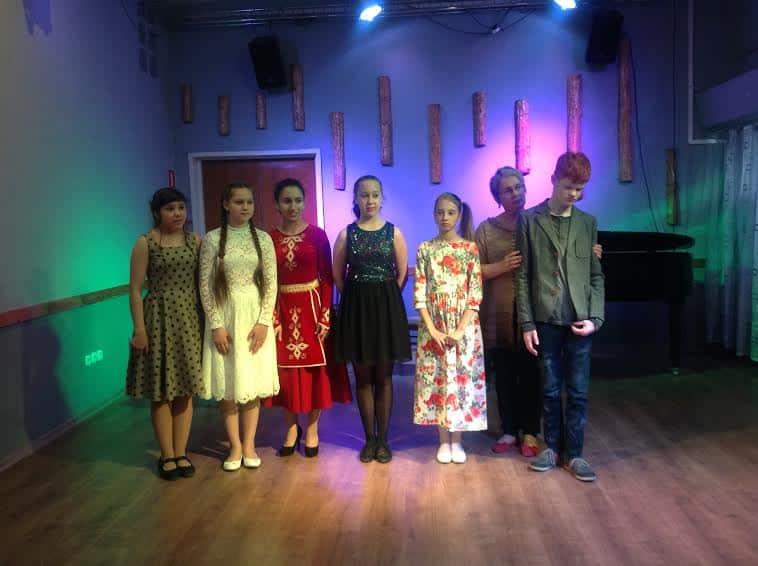 Участники концерта с Ириной Смирновой