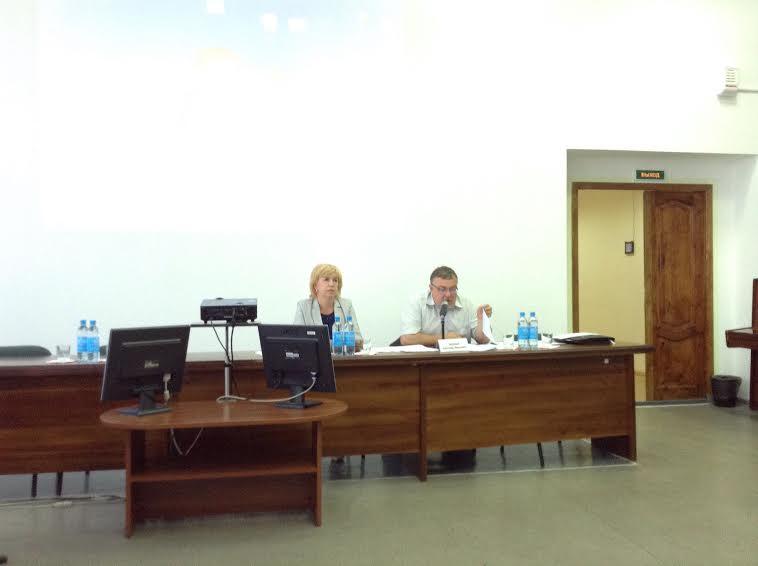 Александр Морозов открывает совещание - первое после сямозерской трагедии