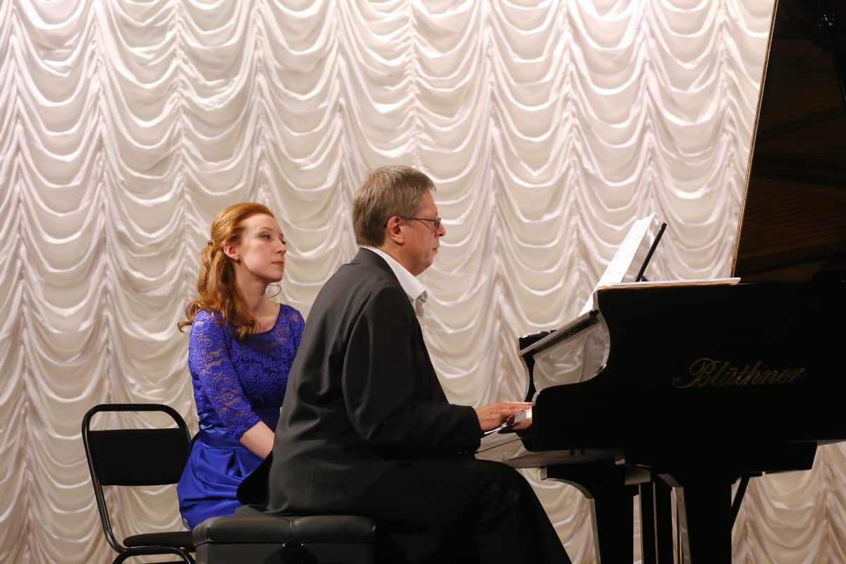Концертмейстер Александр Онькин