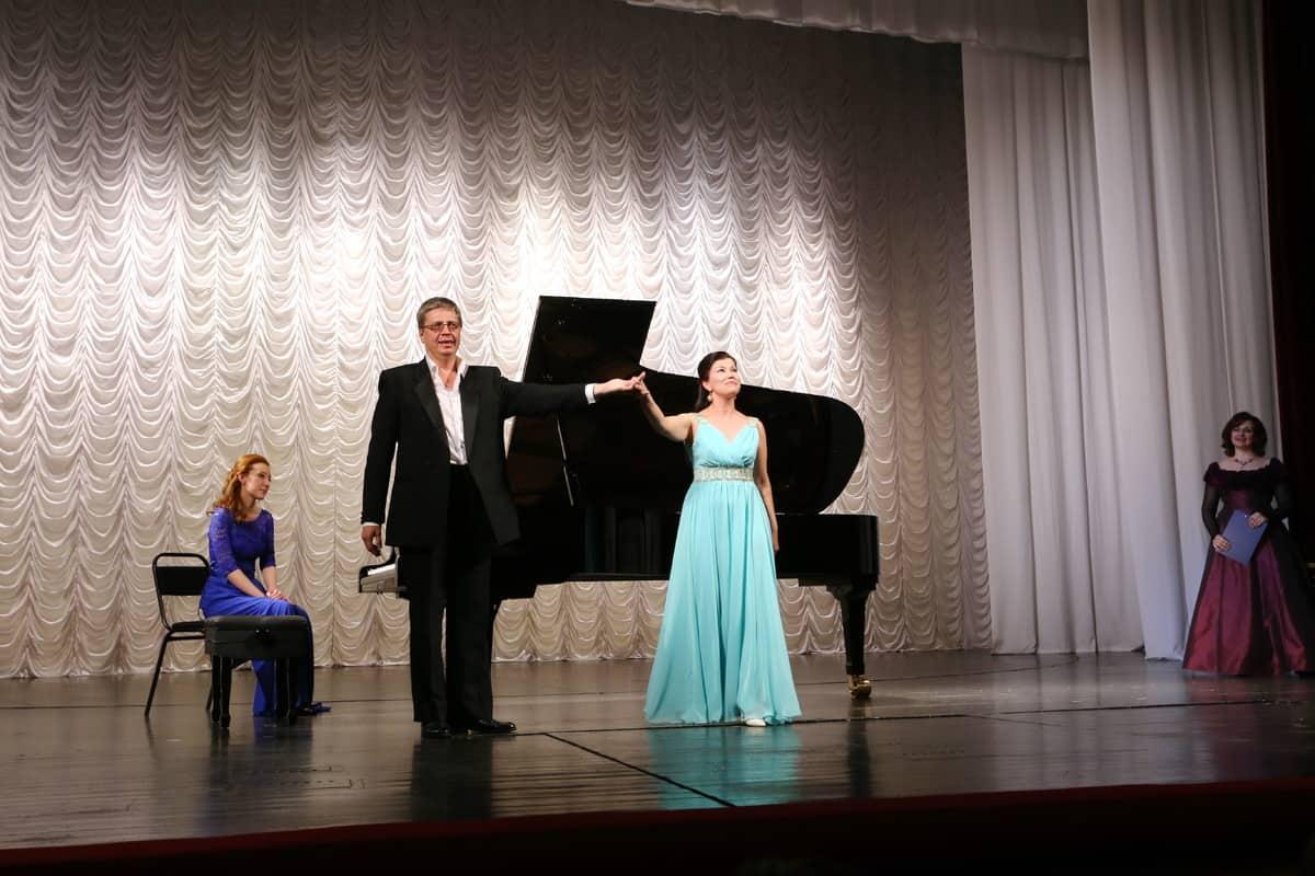 Александр Онькин и Эльвина Муллина
