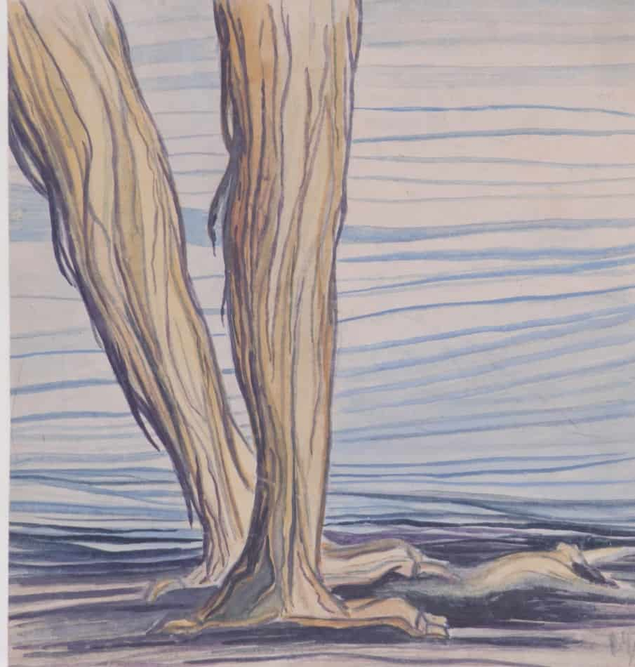 """С.И.Шиголев. Из набросков к циклу """"Каприччио"""". 1937 год"""