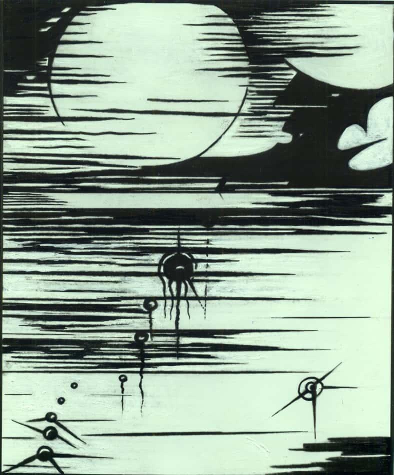 """С.И. Шиголев. Из цикла """"Радиосоната"""". 1930-е годы"""