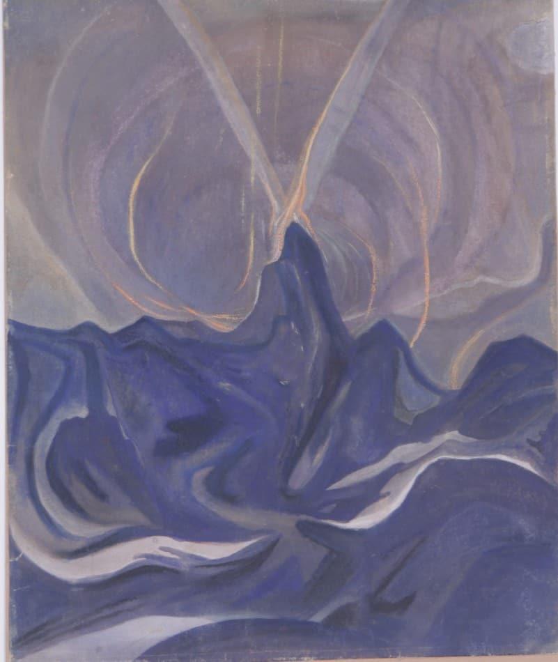 С.И. Шиголев. Удар молнии. 1928 год