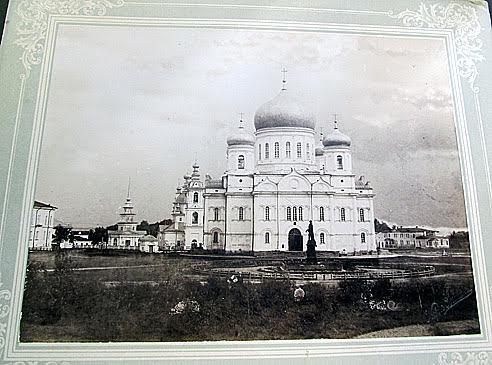 Старинная фотография Соборной площади Карла Иогансона