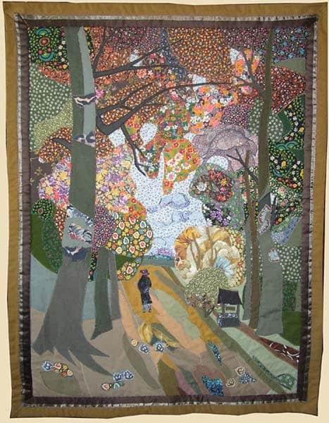 М. Старченко. Осенняя аллея. Фото с сайта www.viju-i-tvoru.narod.ru