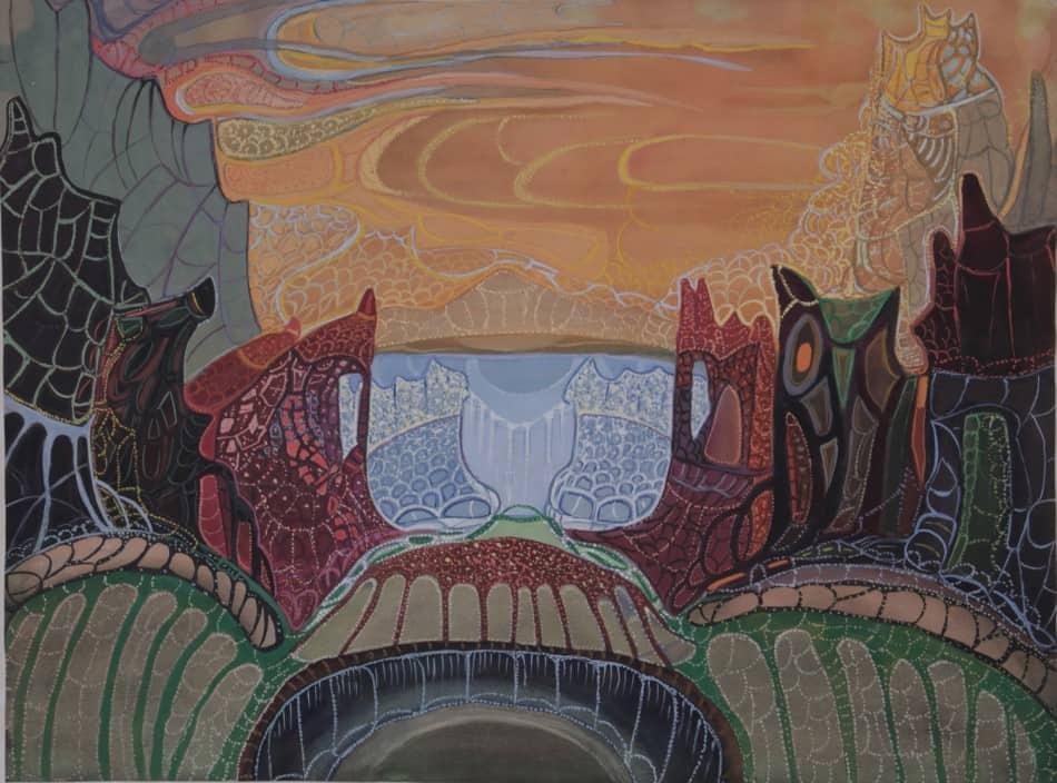 В.Т.Черноволенко. Огненное кольцо. 1972
