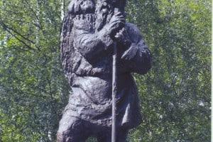 Памятник Николаю Клюеву в Вытегре