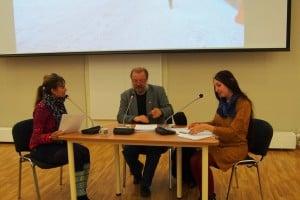 Читка пьесы «Ночь в Таллинне» прошла в Национальной библиотеке (фоторепортаж)