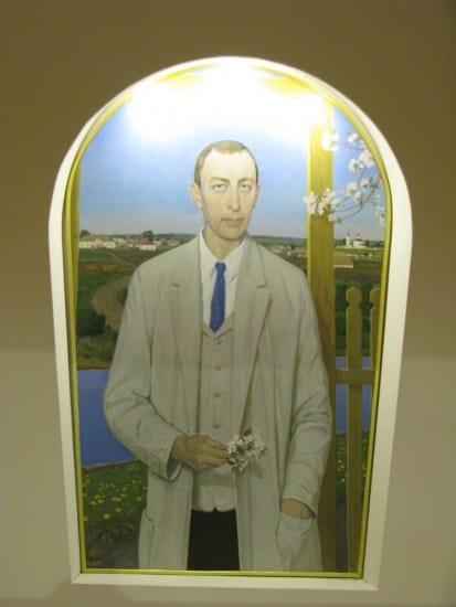 Д. Жилинский. Портрет Рахманинова