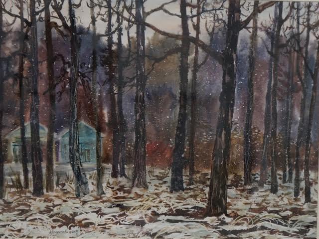 Ксения Трофимова. Первый снег