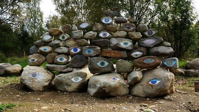 Посмотрите на камни