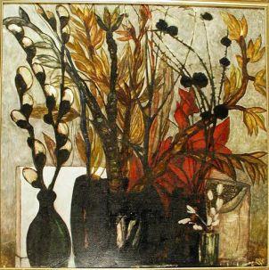 "Судаков Евгений Александрович. 1933-1977. Натюрморт ""Осень"". 1976"