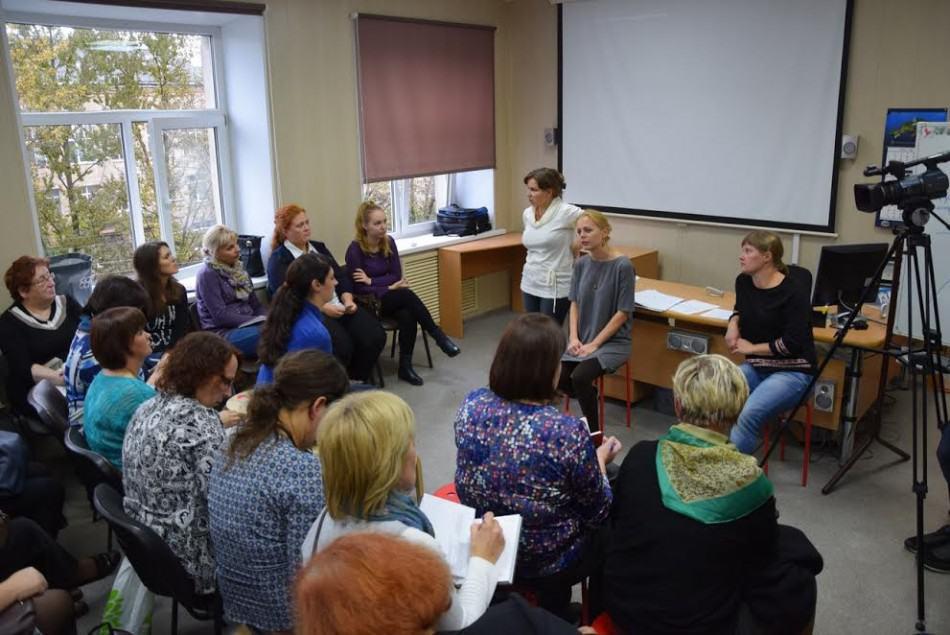 Участники семинара в детско-юношеском центре Петрозаводска