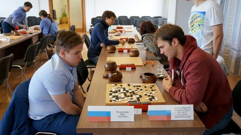 Международный студенческий  фестиваль по игре в го в Петрозаводске