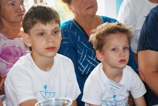Гена и Саша Софиенко