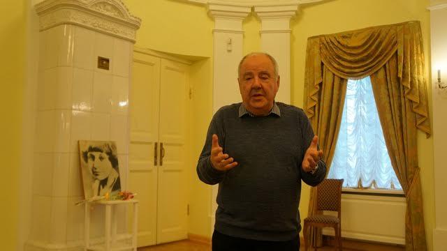 Директор Национального музея Михаил Гольденберг открыл вечер
