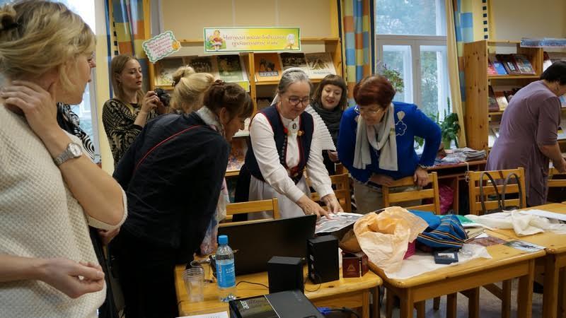 Мастер-класс Елены Яскеляйнен