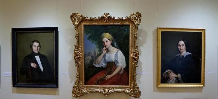 «Путешествие во времени» в Музее изобразительных искусств Карелии