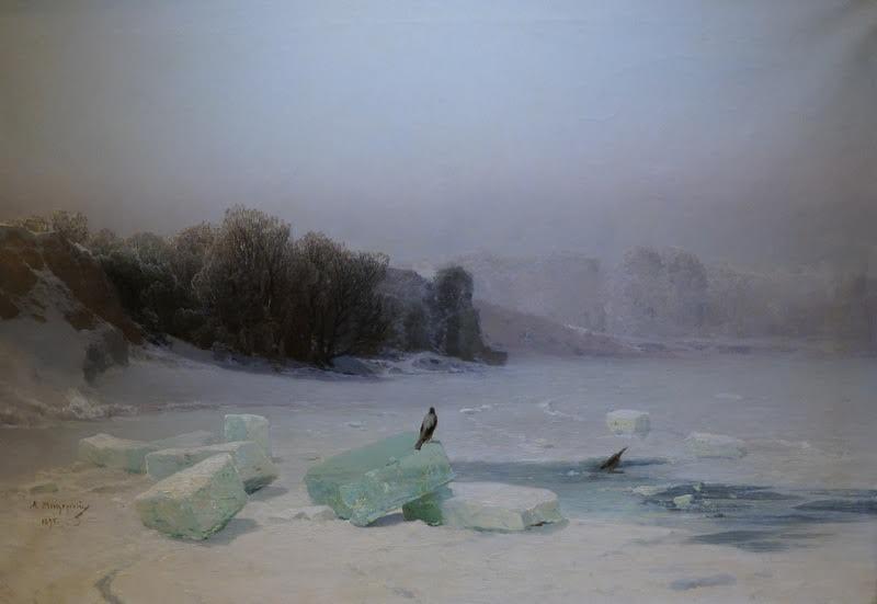 Арсений Мещерский. Заготовка льда. 1896 год