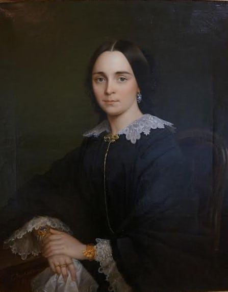Г.И. Яковлев. Женский портрет. 1857 год