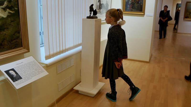 На выставке «Путешествие во времени» в Музее изобразительных искусств Карелии