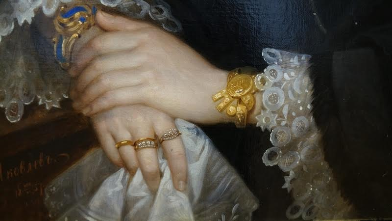 Фрагмент картины Г. Яковлева