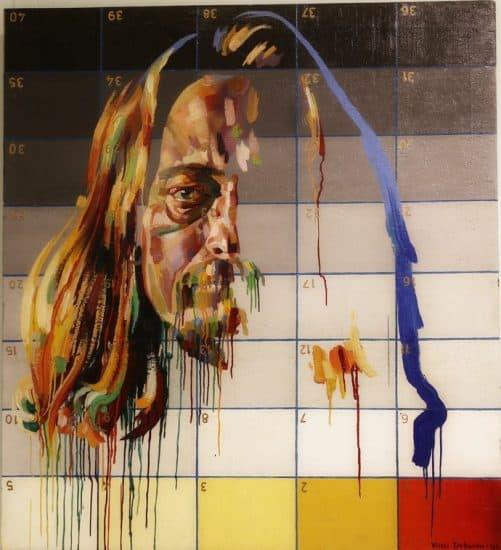 Виталий Добрынин. Автопортрет 1994 года