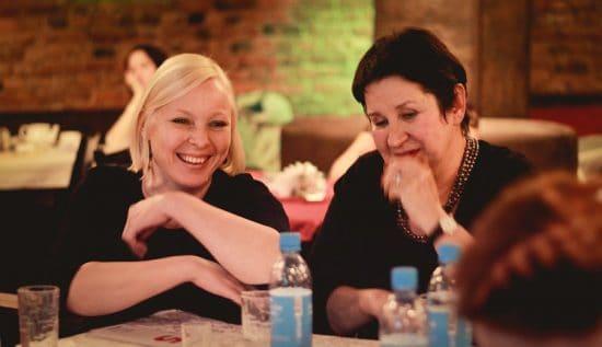 Члены жюри Инна Провоторова и Лидия Побединская