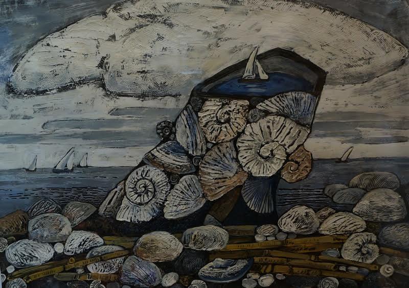 """Нелли Григорьева. """"Мы живем на ребре реки"""" (И. Бродский). Проект """"Башмак в искусстве"""""""