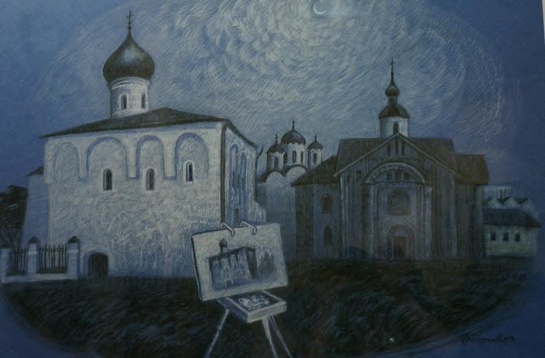 Нелли Григорьева. Великий Новгород. Сон в летнюю ночь